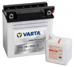 Motobaterie VARTA 12V 9Ah 85A Freshpack 12N9-3B