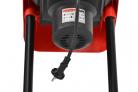 Elektrický drtič větví HECHT 624 - výkonný elektromotor o příkonu 2400 W