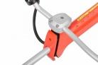 Motorový křovinořez HECHT 163 Profi - detail uchycení rukojeti