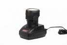 AKU šroubovák/vrtačka HECHT 1260 - akumulátor v nabíječce