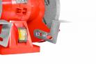 Elektrická stolní bruska HECHT 1726 - bezpečnostní ochrana kotouče