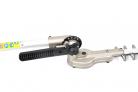 Elektrický nůžky na živý plot HECHT 695 - detail kloubu lišty