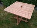 Zahradní stůl TEXIM teakový 100 x 100 cm