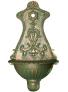 Hliníková výlevka CIU104 zelená patina