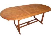Zahradní rozkládací stůl TEXIM Viet 150/200 x 100 cm