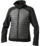 Pánská softshellová bunda černá/šedá VALTRA