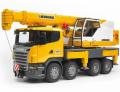 Jeřáb Liebherr Scania R BRUDER 03570