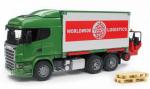 Nákladní vůz Scania R s vysokozdvižným vozíkem BRUDER 03580