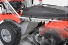 Motorový zametací kartáč HECHT 8101 - nastavení směrů násady pomocí páčky