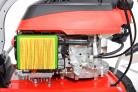 Motorový zametací kartáč HECHT 8101 - detail filtru motoru