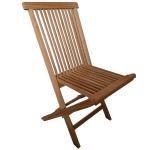 Zahradní teaková skládací židle TEXIM