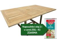 Zahradní rozkládací stůl TEXIM Palu