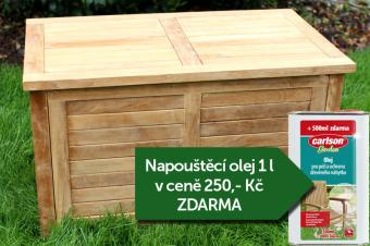 Truhla na polstry 100 cm TEXIM + napouštěcí olej 1l zdarma