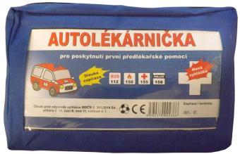 Autolékárna v textilním pouzdře
