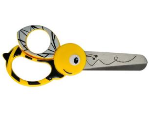 Dětské nůžky Animals Včely 13 cm FISKARS 1003747
