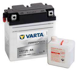 Motobaterie VARTA 6V 11Ah 80A Freshpack 6N11A-3A
