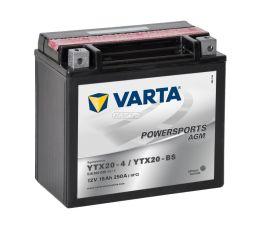 Motobaterie VARTA 12V 18Ah 250A AGM YTX20-BS