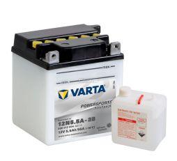 Motobaterie VARTA 12V 5,5Ah 58A Freshpack 12N5.5A-3B