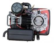 Dvoutaktní motor JIKOV 1453 spojka 80 mm