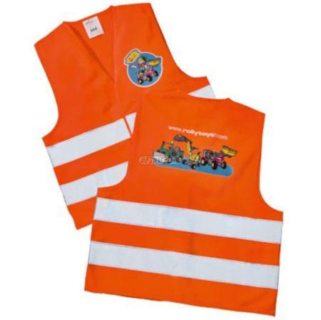 Oranžová reflexní vesta ROLLY TOYS