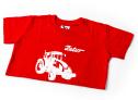 Dětské červené tričko ZETOR - 6 let