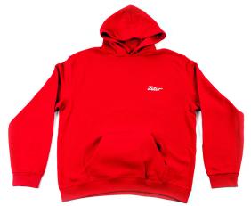 Červená mikina s kapucí ZETOR Unisex - L
