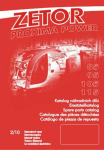Katalog ND ZETOR Proxima Power (2008-2011)