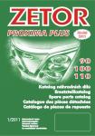 Katalog ND ZETOR Proxima Plus (2011-2013)