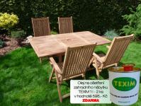 Zahradní nábytek TEXIM sestava Palu 1+4