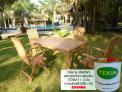 Zahradní nábytek TEXIM sestava Garden II. 1+4