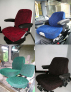 Potah sedačky GRAMMER MSG/741 bez prodloužení zádové opěrky - barevné varianty potahů
