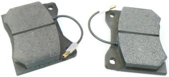 Sada brzdových destiček s indikátorem opotřebení ZETOR 93-5023