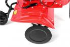 Benzínový rotavátor HECHT 778 - velký ocelový ochranný kryt proti odletujícímu materiálu