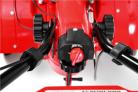 Benzínový rotavátor HECHT 778 - vypnuto/zapnuto