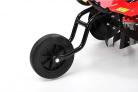 Benzínový rotavátor HECHT 778 - detail předního pojezdového kola