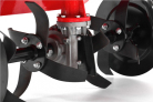Benzínový rotavátor HECHT 778 - detail hřídele radliček