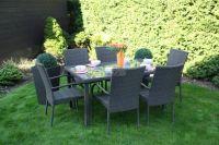 Zahradní nábytek TEXIM ratanová sestava Poly 1+6