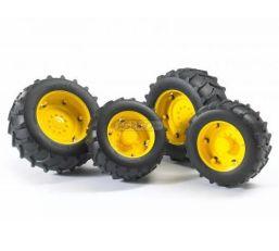 Pneumatiky se žlutými ráfky BRUDER 02321