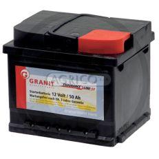 Autobaterie GRANIT 12V 50Ah 450A
