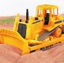 Buldozer Caterpillar BRUDER 02422 při práci