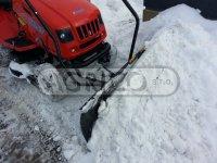 Shrnovací radlice k zahradnímu traktoru VARES Komfort 1,4 m