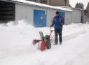 Sněhové řetězy VARI 4330 usnadňují pohyb sněžné frézy