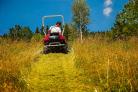 Mulčovací traktor SECO Goliath 4x4 má svahovou dostupnost až 25°