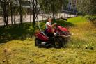 Mulčovací traktor SECO Goliath 4x4 je vhodný pro intenzivní mulčování
