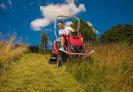 Mulčovací traktor SECO Goliath 4x4 zvládne i náročný terén