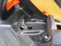Mulčovací traktor SECO Goliath 4x4 - detail nožního pedálu