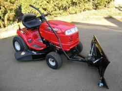 Shrnovací radlice k zahradnímu traktoru VARES Standard 1,4 m