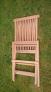 Zahradní nábytek TEXIM sestava Clasic I. 1+4 - detail složené židle