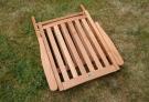 Zahradní židle TEXIM Alfi lze snadno a rychle složit/rozložit