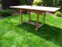Zahradní skládací stůl TEXIM Palu lze snadno a rychle složit/rozložit